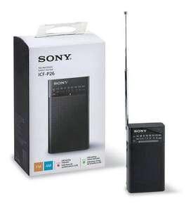 Radio Sony Icf - P26 2 Bandas Am-fm Con Indicador Led CC Monterrey local sotano 5