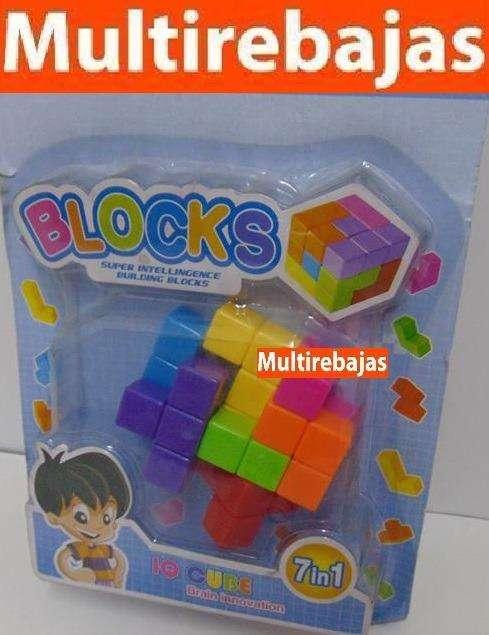 Lego Cubo Rubik Rompecabeza Nino 7 En 1 0