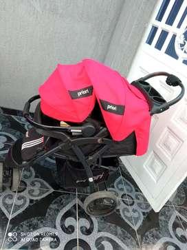 Coche priori con silla de carro