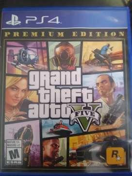 40 soles , GTA 5 premium edition
