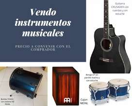 Vendo instrumentos musicales