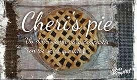 Dulce tarta o pay de frutas, natural y delicioso.
