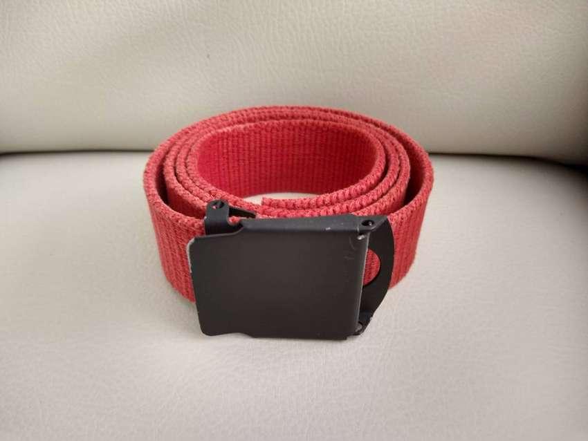 Correa cinturon rojo
