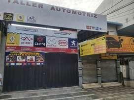 Alquilo Excelente local comercial terreno lubricadora/taller/Almacen/bodegas/restaurante ubicación sector ayacucho