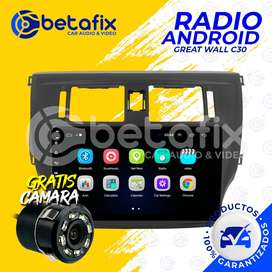 RADIO ANDROID GREAT WALL C30 GPS BT USB WIFI BETAFIX DESDE