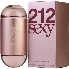 Perfumes mb Carolina Herrera 212 Sexy eau de Parfum 100ml Originl Garantia