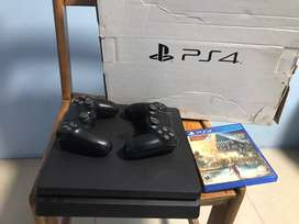 Ps4 Slim Original Con Caja