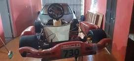 Vendo chasis de karting
