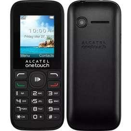 ALCATEL ONETOUCH 1052D DUAL SIM Libre CAMARA RADIO MP3 BLUETOOTH CAPITAL FEDERAL BS AS
