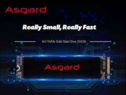 Disco Estado Solido Asgard AN Series M.2 2280 250GB PCIe