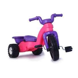triciclo montable volco niña