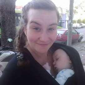 Fulard bebé negro