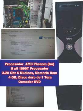 PC  ESCRITORIO EXCELENTE ESTADO