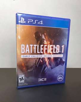 Battlefield 1 Early Enlister Deluxe Edition - Nuevo Sellado