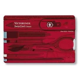 Victorinox Swiss Card Roja. (11 Funciones). Original. Entrega Banimported