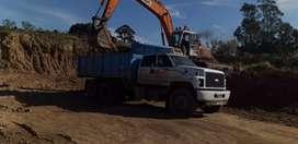Camión volcador 14 metros