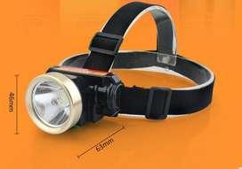 Linterna Minera Recargable Bateria Interna 2000 Ma