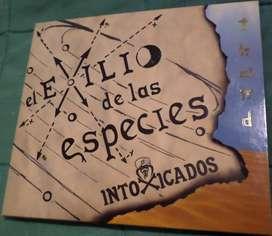 Intoxicados. El Exilio de las Especies. Cd original.