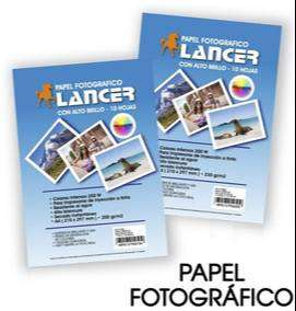 Papel Fotografico Lancer De 230gr