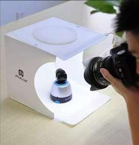 Caja de luz portatil para fotografia de estudio