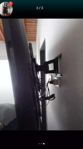 Soportes instalados para televisores llamar