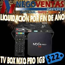 TV BOX MX 1G X 8
