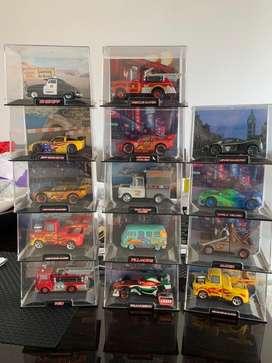 Coleccion carros cars disney x 13 + obsequio