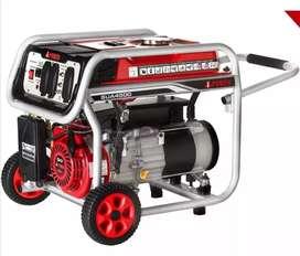 Planta eléctrica generador 4500 watts gasolina I power 7 Hp