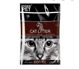 Arena para gatos CAT LITTER x 4kg aroma a café
