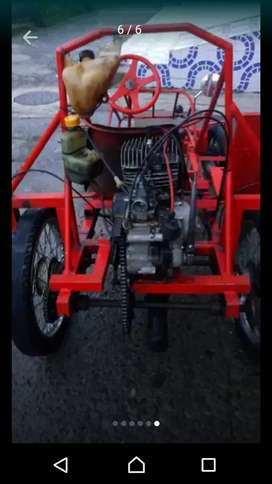 Carro fabricación casera