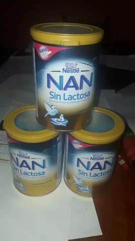 Vendo leche Nan