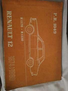 Manual de Despieze Renault 12 Y 18