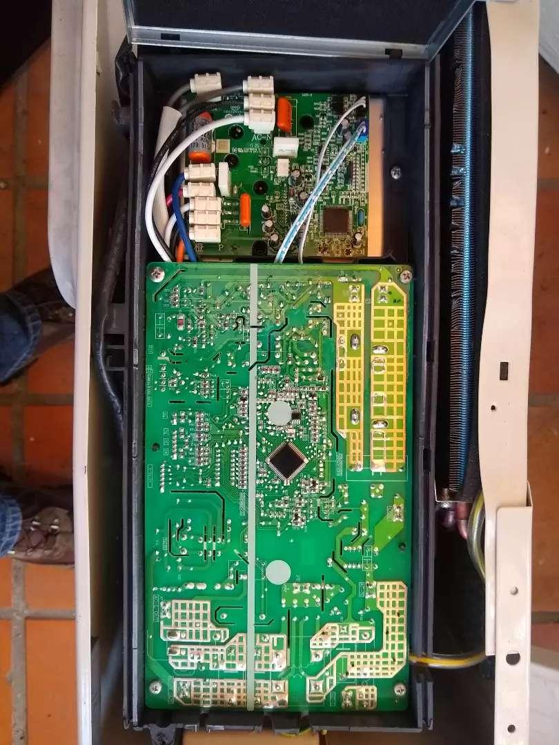 Tarjeta y motor aire Mabe inverter 0