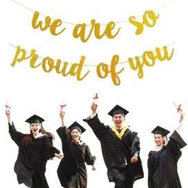 Cadeneta Dorada Graduación Adorno