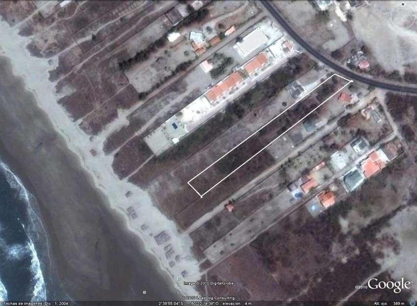 Terreno en Playas, vía a Data, Al pie del Mar, Playas Gral. Villamil, 5.378