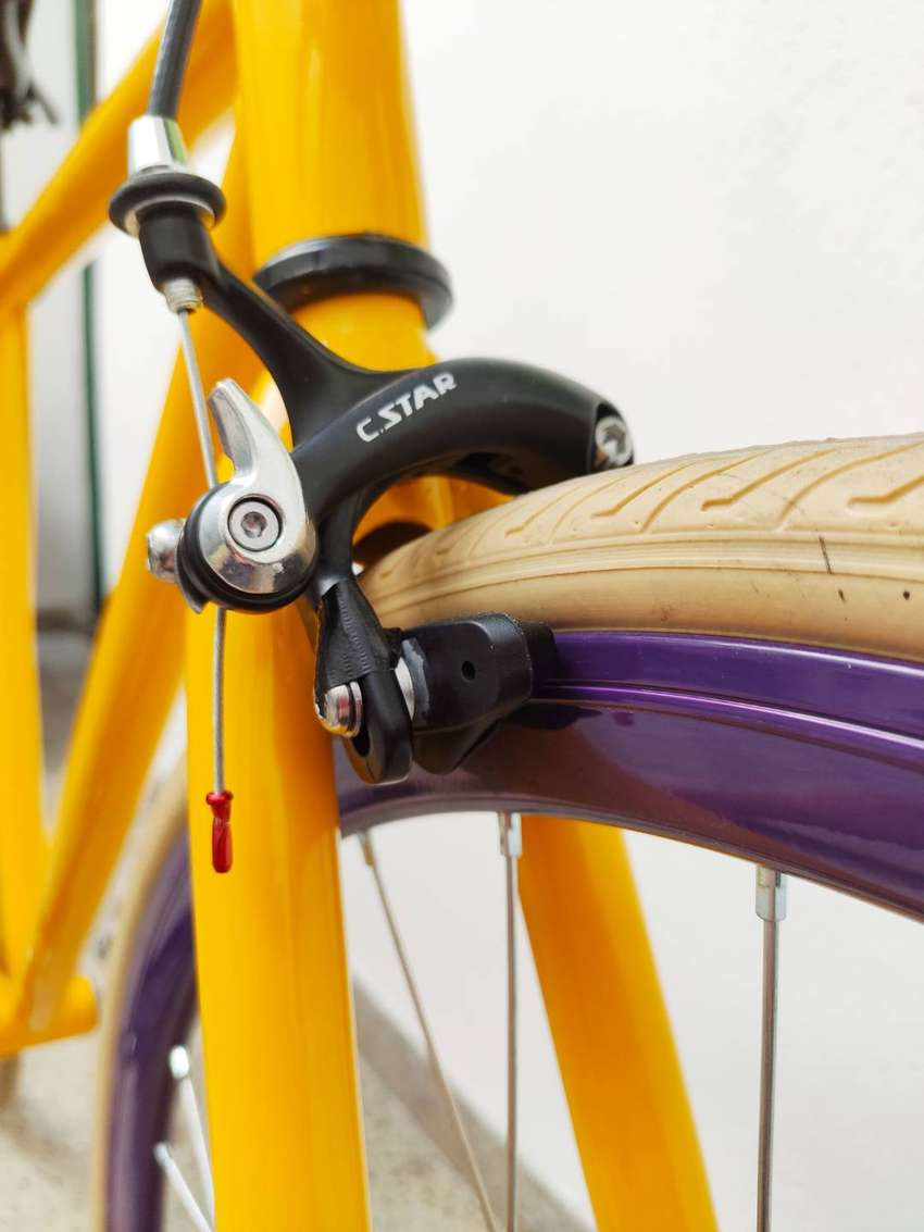 Bicicleta fixie nueva R28 0