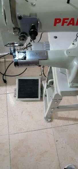 Maquina de coser industrial de codo derecho Pfaff