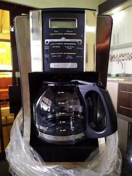 Cafetera Mr. Coffe Nueva