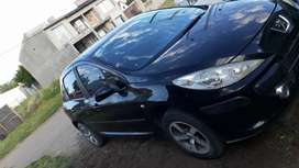 Peugeot 307 negro 2008 titular