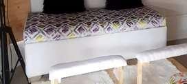 Sofa con baul interno
