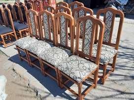 sillas tapizas
