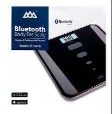 Bascula Balanza Pesa Digital App Bluetooth Gym 180 Kg