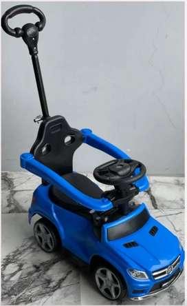 Correpasillos musicales para  niños, con barra de empuje y  barra de seguridad.