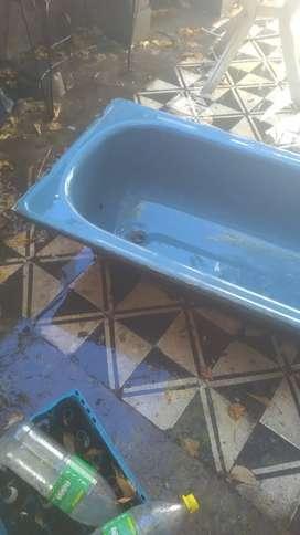 Bañera de hierro