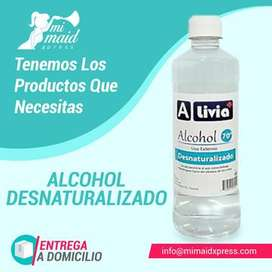 Alcohol al 70% de 24 oz