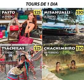 TOURS DE 1 DÍA DESDE QUITO