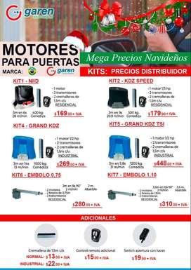 MOTORES CON APERTURA DESDE CELULAR