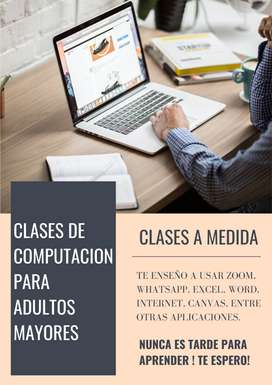 Clases De Computacion Online Para Adultos Mayores