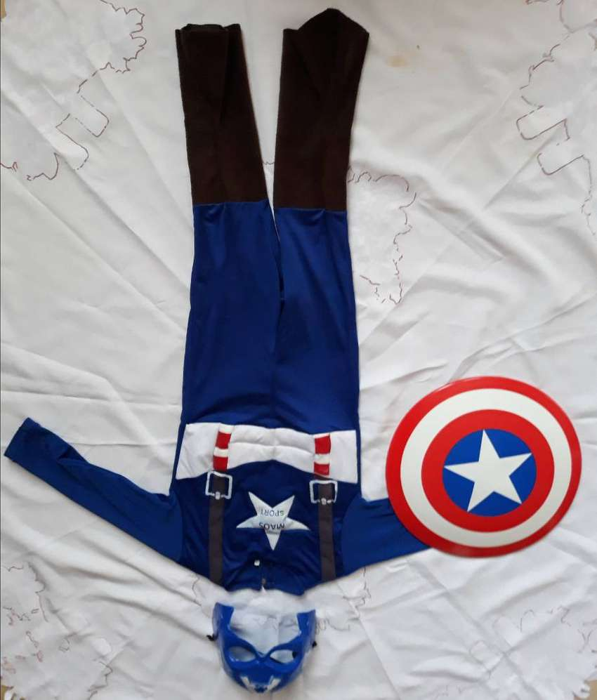 Disfraz capitan America niño