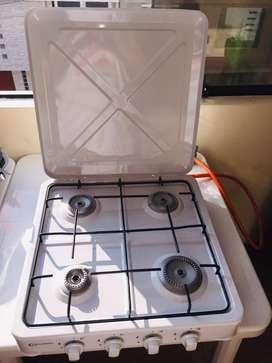 OFERTA Cocina de Mesa NUEVO + Regulador de Gas con Manguera NUEVO MARCAS PERUANAS